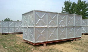 Hot Dipped Galvanized Water Tank for Farm Irrigation, Firefighting