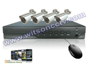 Witson 4CH H. 264 DIY DVR Kit Camera System (W3-KD3004HT-329CK) pictures & photos