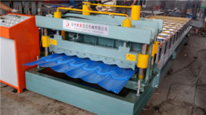 Galvalume Steel Roof Tile Making Machine pictures & photos