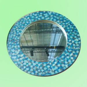 Round Mirror Bordered by Colorful Picture Design Frame Mirror (LH-000511) pictures & photos