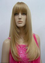 Popular High Quality 100pct Synthetic Hair Wigs pictures & photos