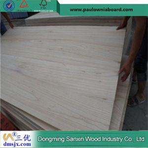 Paulownia Elongata Jointed Board for Furniture, Coffin, Ski Core