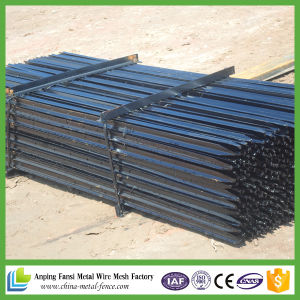 2.04kg Black Pinted Steel Star Picket pictures & photos