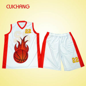 Wholesale Basketball Uniform, Custom Design Cheap Sublimation Basketball Uniform pictures & photos