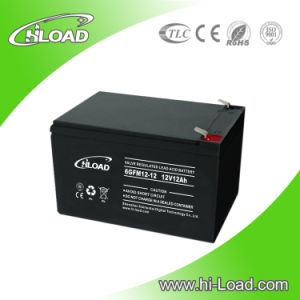 12V 12ah Rechargeable Solar Lead Acid Batteries pictures & photos