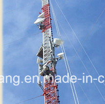 Galvanized Steel Lattice Guy Wire Tower for Telecom pictures & photos