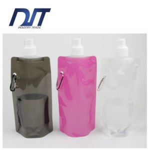 Customized Hot OEM Good Quality Cheap Foldable Plastic Water Bag pictures & photos