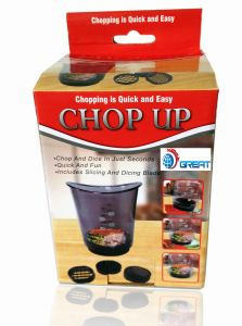 3 In1 Function Cut N Cup of Vegetable Chop up (TV007) pictures & photos