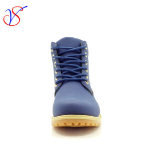 2017 New Injection Men Women Safety Working Work Boots Shoes (SVWK-1609-012 NAVY) pictures & photos