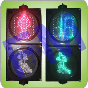 Dynamic LED Pedestrian Light with Countdown Timer (RX200-3-25-1D)