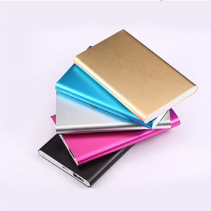 Cheap 4000mAh Aluminum Alloy Portable Power Bank pictures & photos