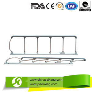 Six Stainless Steel Removable Guardrail for Hospital Beds (CE/FDA/ISO) pictures & photos
