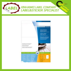 Premium 105X148mm White Matt Paper Address Label