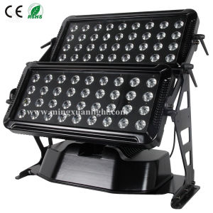 72PCS 10W Wall Washer LED Stage Light pictures & photos