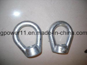 Power Line Fitting Oval Eye Nut pictures & photos