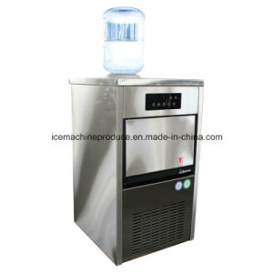 35kgs Outdoor Self-Feed Cube Ice Maker for Commercial Use pictures & photos