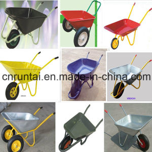 Two Wheels Hot Sale Russia Market Wheel Barrow pictures & photos