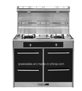Integrated Cooker with Double Gas Stove (JCJZ-100A) pictures & photos