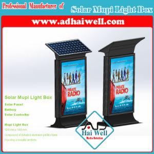 Solar Mupi Light Box Advertising Light Box pictures & photos