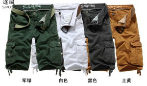 Men′s Fashion Cargo Short Pants OEM Manufacturer pictures & photos