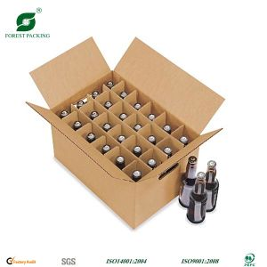 Corrugated Wine Packaging Box with Custom Log pictures & photos