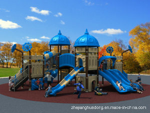 2017 Children Outdoor/Indoor Playground Slide Exercise Equipment OEM/ODM Orders Are Acceptalbe European and Korea Castle pictures & photos
