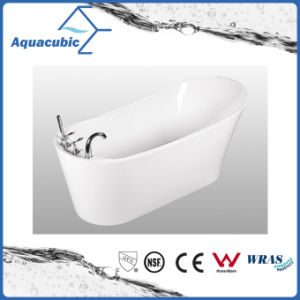 Bathroom Pure Acrylic Seamless Freestanding Bathtub (AB6509) pictures & photos