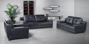 PVC Black Modern Sofa