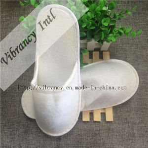 Disposable Hotel Bathroom Slippers Close Toe Slipper pictures & photos