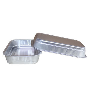 Foil Container Oblong Tray pictures & photos