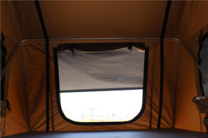 Modern Popular Double Ladder Safari Car Roof Top Tent for Outdoor Truck Camping pictures & photos