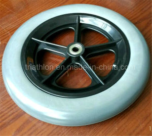 "8"" 9"" 10"" 12"" 14"" 16"" 18"" 20"" 22"" 24"" 26"" Flat Free PU Foam Wheel pictures & photos"