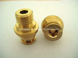 Hexagonal Socket Nut for Brass Fittings pictures & photos