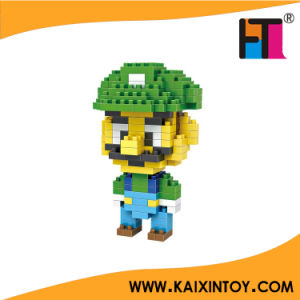 Green Mary Mario Figure Mini Block Diamond Building Block Toy pictures & photos