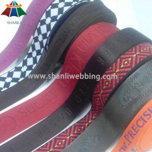 Eco-Friendly Jacquard Woven Nylon Cotton PP/Polypropylene Polyester Webbing pictures & photos
