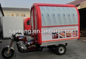 2014 Best Seller Motorcycle Mobile Food Carts for Sale