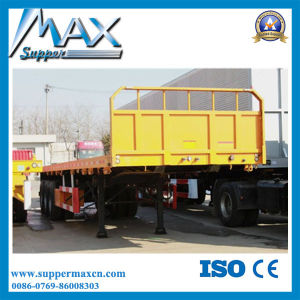 2016 Hot Sale 3 Axle Cargo Trailer with Sideboard pictures & photos