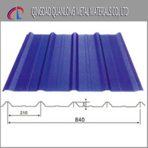 PPGI Corrugated Roofing Sheet for Constructure Use pictures & photos