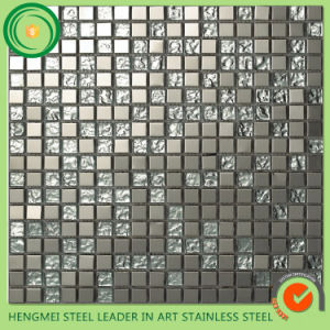 Stainless Steel Tiles Stainless Steel Mosaic Tile and Ti Color Decorative stainless Steel Sheet pictures & photos