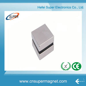 ISO9001 Certificated N42 Rare Earth Neodymium Block Magnet pictures & photos