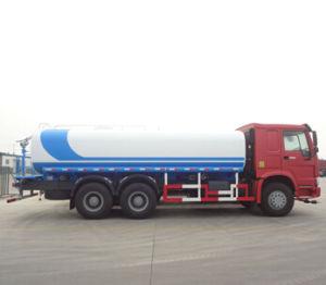 Sino Truck HOWO 1000liter 12000liter 20000liter Water Tank Truck