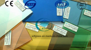 Building Reflective Float Glass with Ce. ISO (4mm to 10mm) pictures & photos