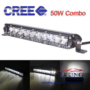 Super Slimsingle Row CREE 50W LED Light Bar pictures & photos