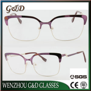 New Design Popular Metal Glasses Eyewear Eyeglass Optical Frame Xd pictures & photos