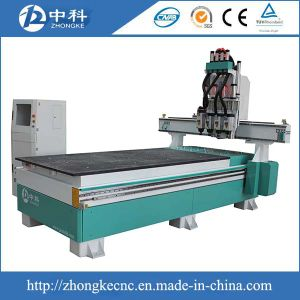 Four Spindles CNC Router with Simple Changing Cutters Function pictures & photos