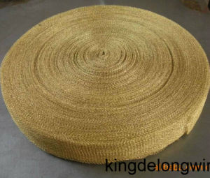 Brass Wire Knitted Wire Mesh pictures & photos
