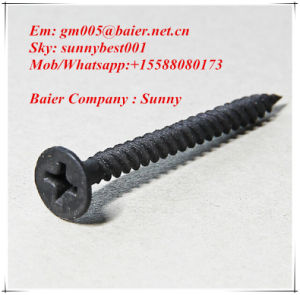 Baier Drywall Black Self Screw pictures & photos