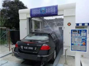 Best-Selling Tunnel Car Washer with Water-Proof Motor Drying pictures & photos