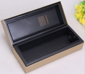 Golden Embossed Paper Perfume Box pictures & photos