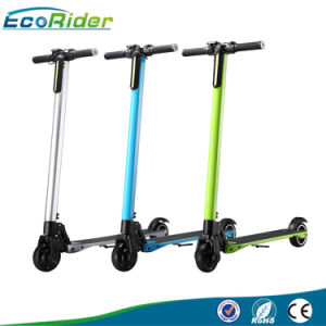 350W Brushless LCD Display 2 Wheel Folding Electric Kick Scooter pictures & photos
